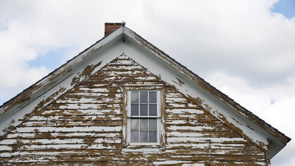 Lead paint house