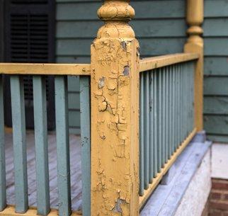 Lead paint porch