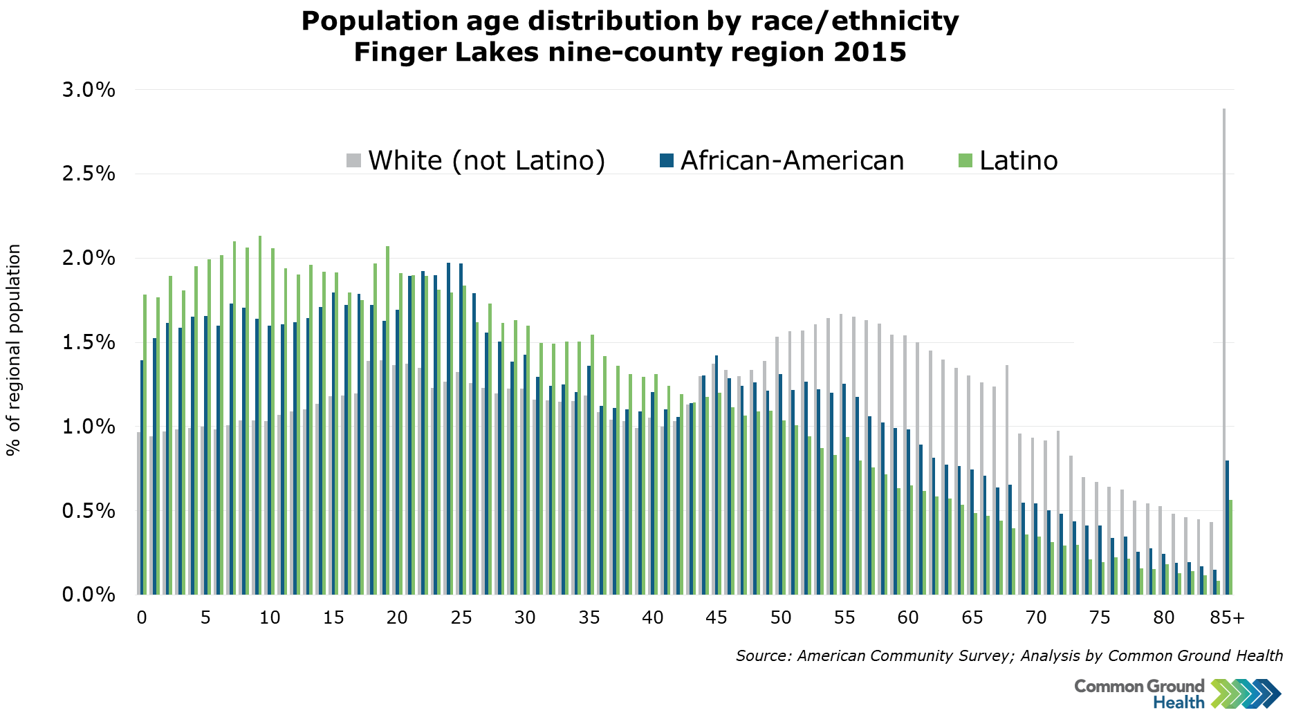 Population Age Distribution by Race/Ethnicity