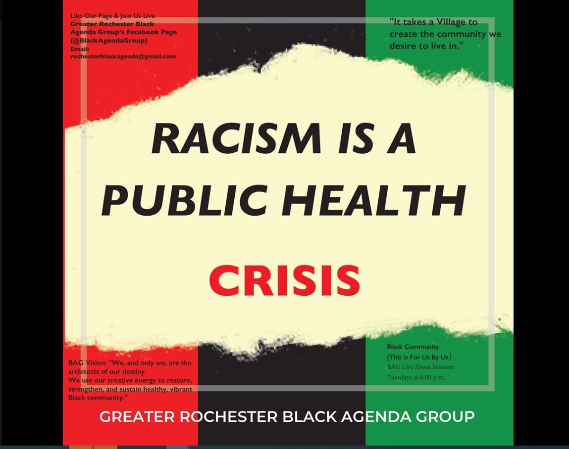 Common Ground and coalitions affirm racism is a public health crisis