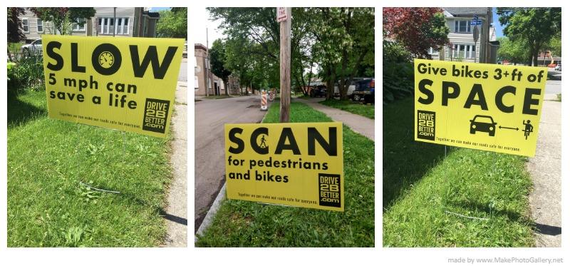 Drive2Bbetter campaign seeks community help to post lawn signs
