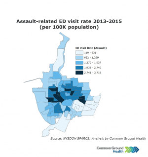 Assault-Related Emergency Department Visit Rate