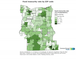 Food Insecurity by ZIP Code