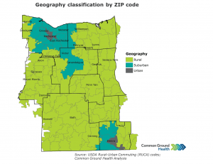 Geography Classification by ZIP Code