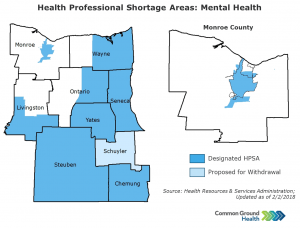 Health Professional Shortage Areas: Mental Health