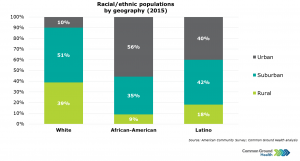 Race/Ethnicity Populations by Geography