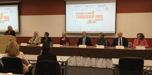 Business leaders help kick smoking off campuses