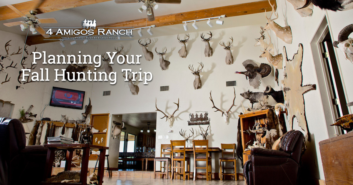 Planning Your Fall Hunting Trip