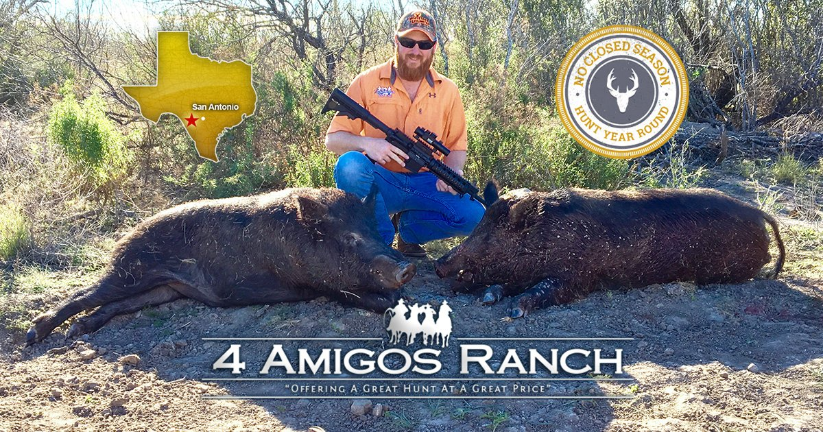 Amazing Deals on South Texas Hunting Packages