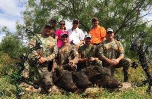 TX Hog Hunting