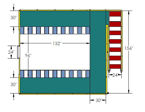 747 Engine Maintenance Dock