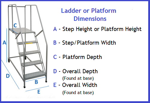 Custom Industrial Ladder Dimensions