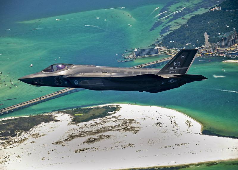 F-35 Lockheed Martin Fighter Jet