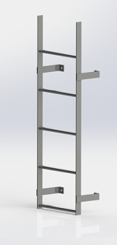 Stainless Steel Egress Ladder