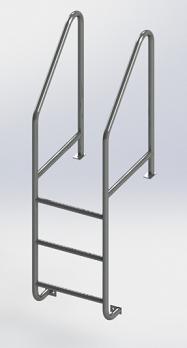 Stainless Steel Dock Ladder