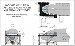 Wide Body Nose Dock