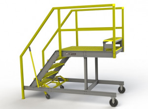 FRP Composite MD 500 Maintenance Platform