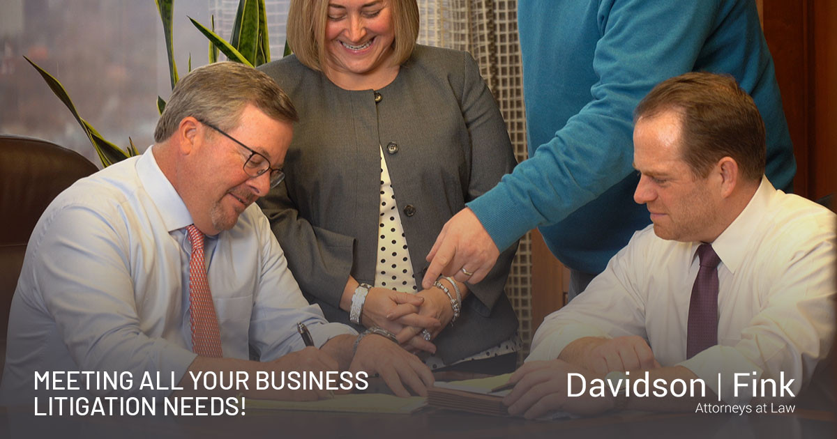 Thinking of Starting a Business? Already Established? Davidson Fink has you covered!