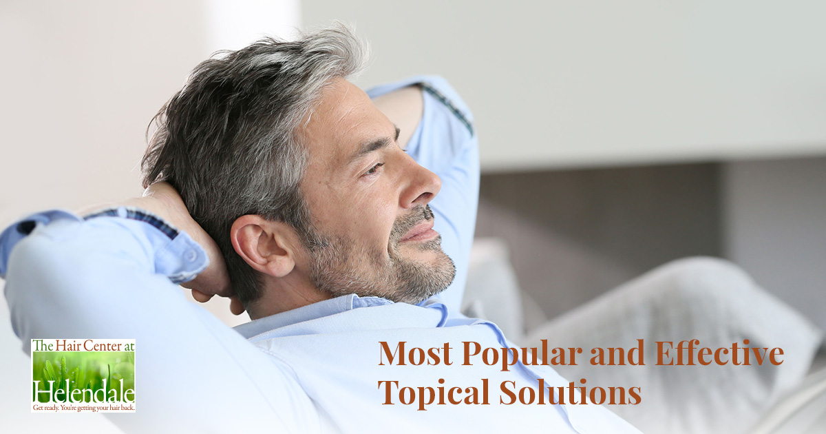 An Overview of Popular Topical Hair Restoration Options