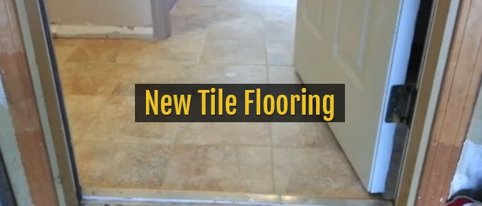 New Tile Flooring, Residential Home in Pittsford NY
