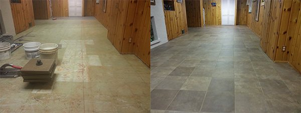 New Tile Flooring Installation Rochester NY