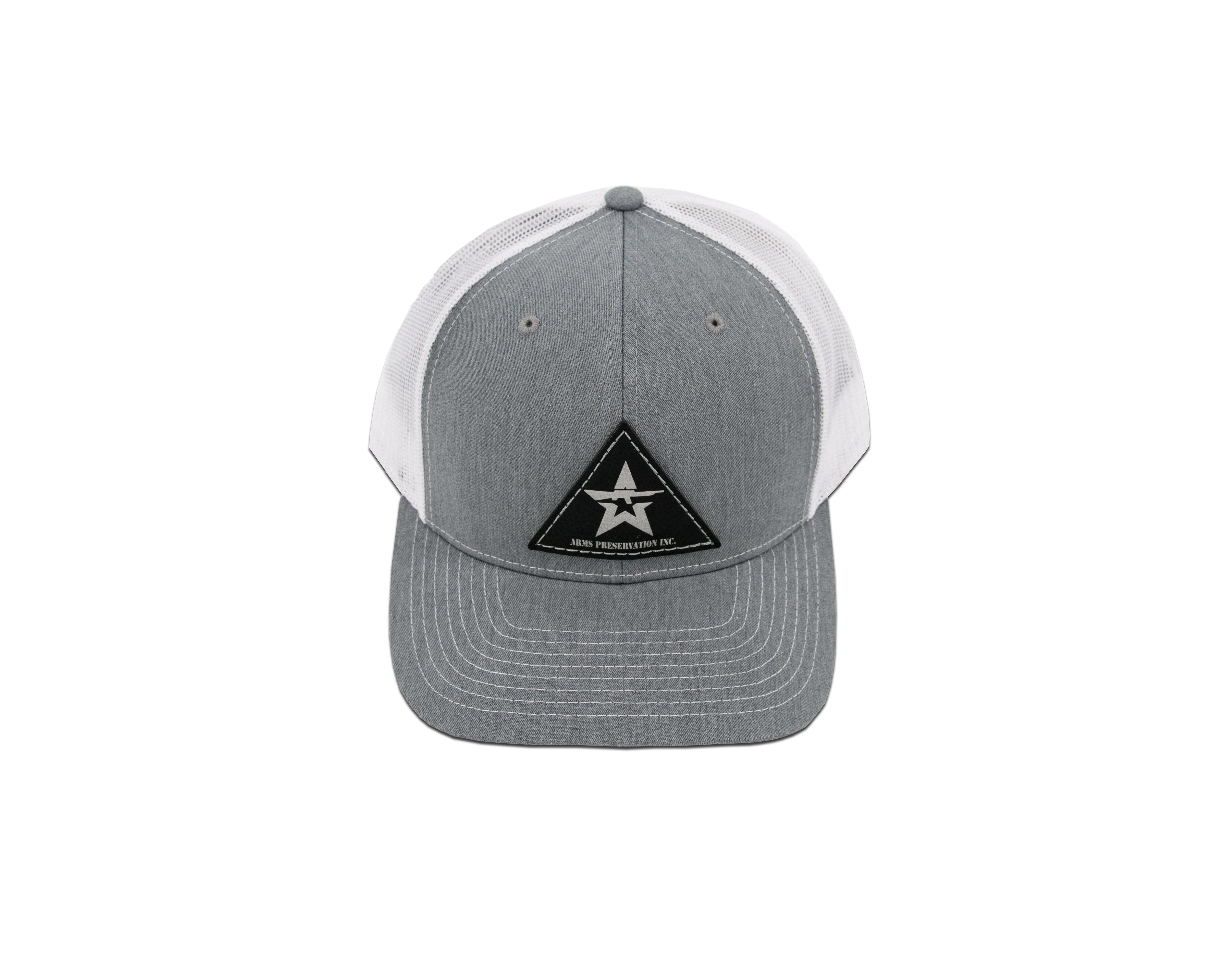 A.P.I. Gray Man Trucker Hat - White