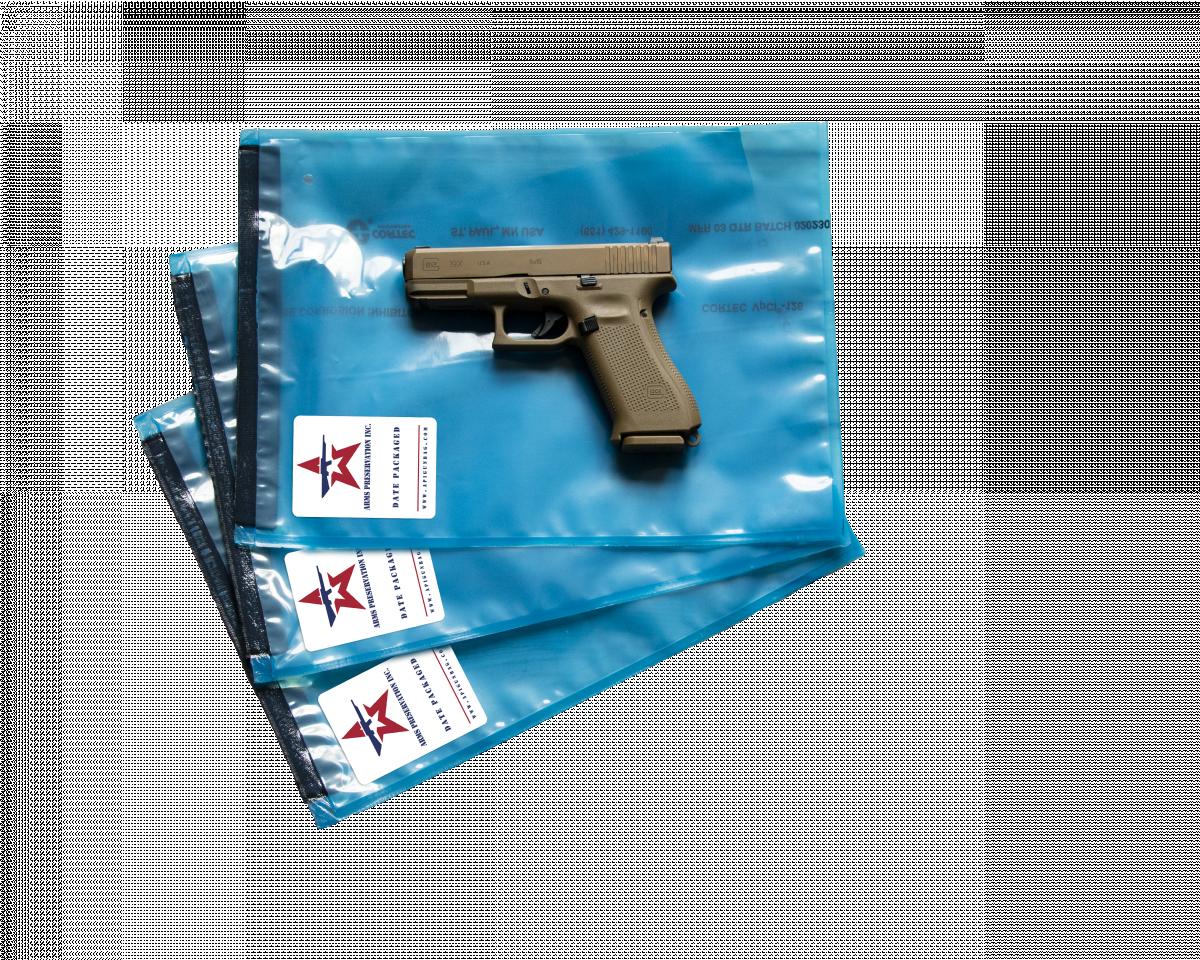 Glock 19 on API pistol storage bag