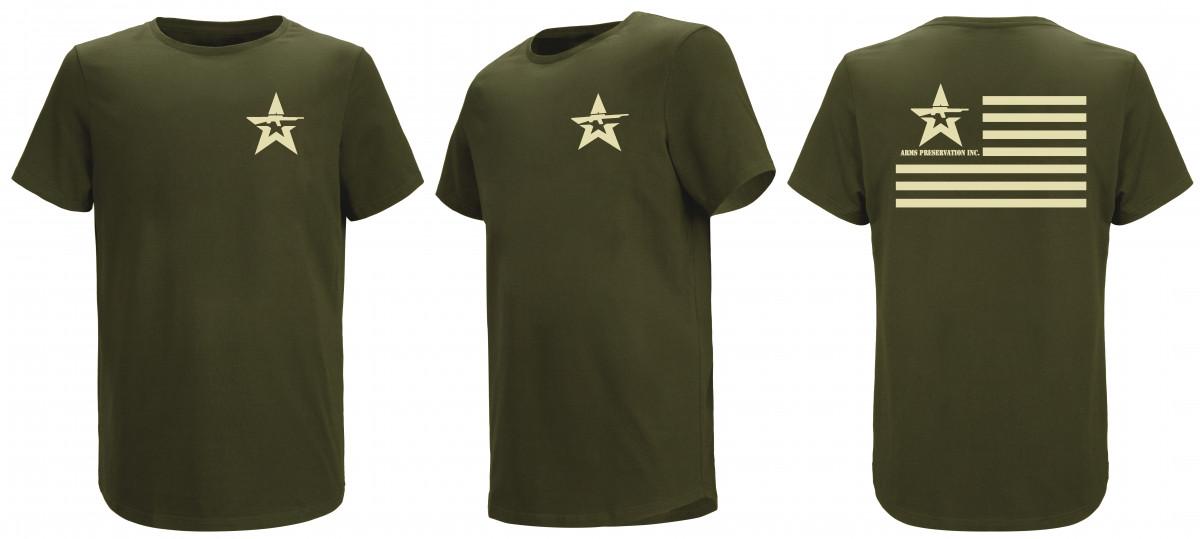 A.P.I. T-Shirt - OD
