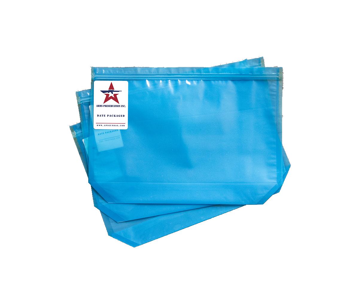 Blue API .30 cal anti-corrosion ammo storage bags