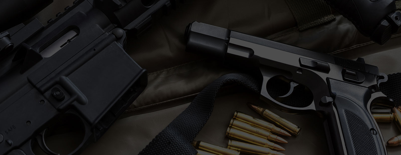 Arms Preservation, Inc. Pistol, Rifle, and ammo