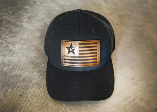 A.P.I. Flag Trucker Hat - Black