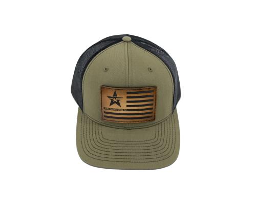 A.P.I. Flag Trucker Hat - OD Green