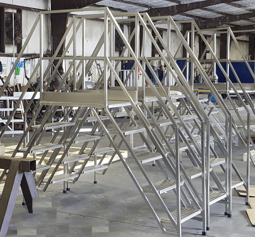 Custom Cleanroom Ladders