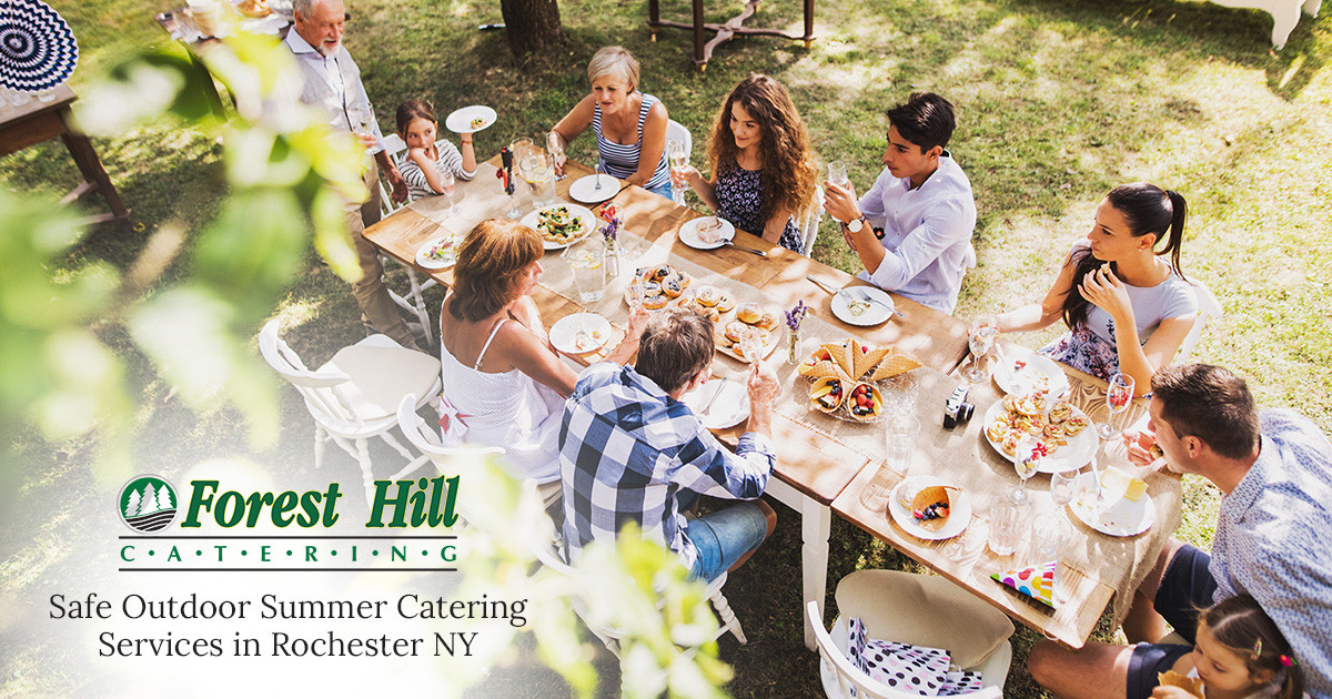 Outdoor Summer Catering Services in Rochester and Western NY