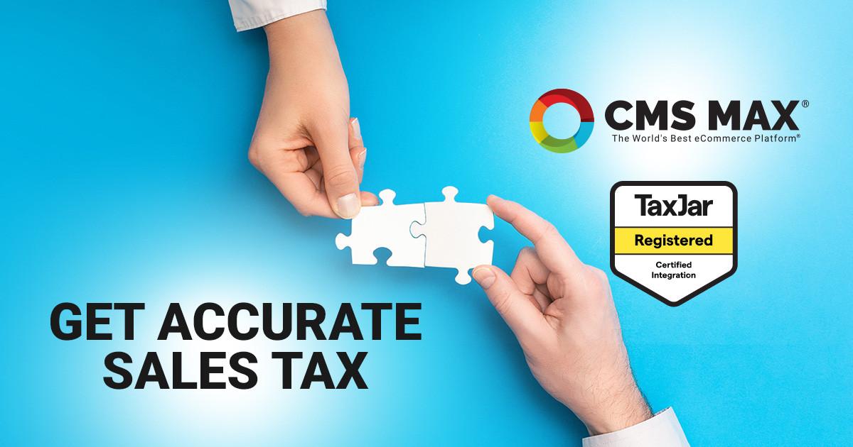 TaxJar Certified eCommerce Platform