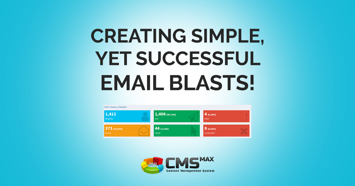 Creating Simple Email Blasts