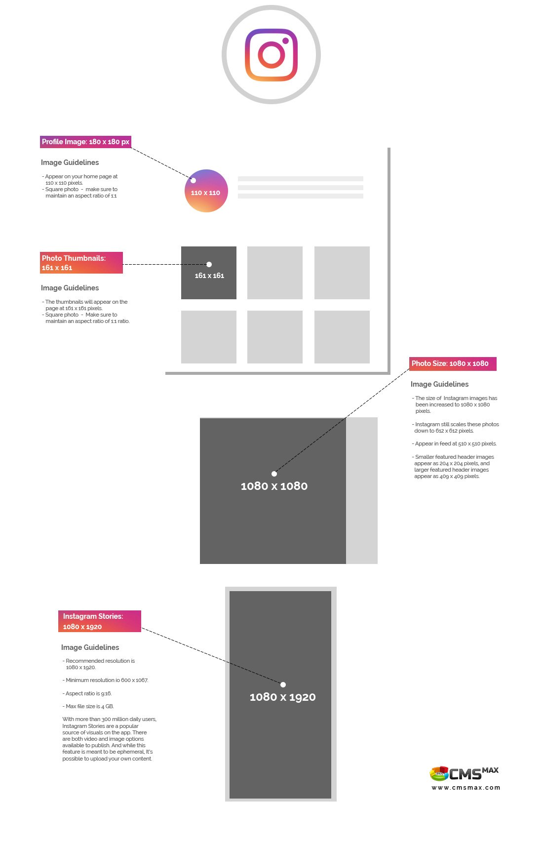 Instagram Design Sizes