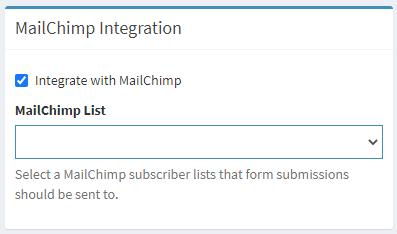 MailChimp / CMS Max Integration Setup