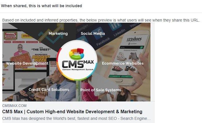 Social Media Share URL example
