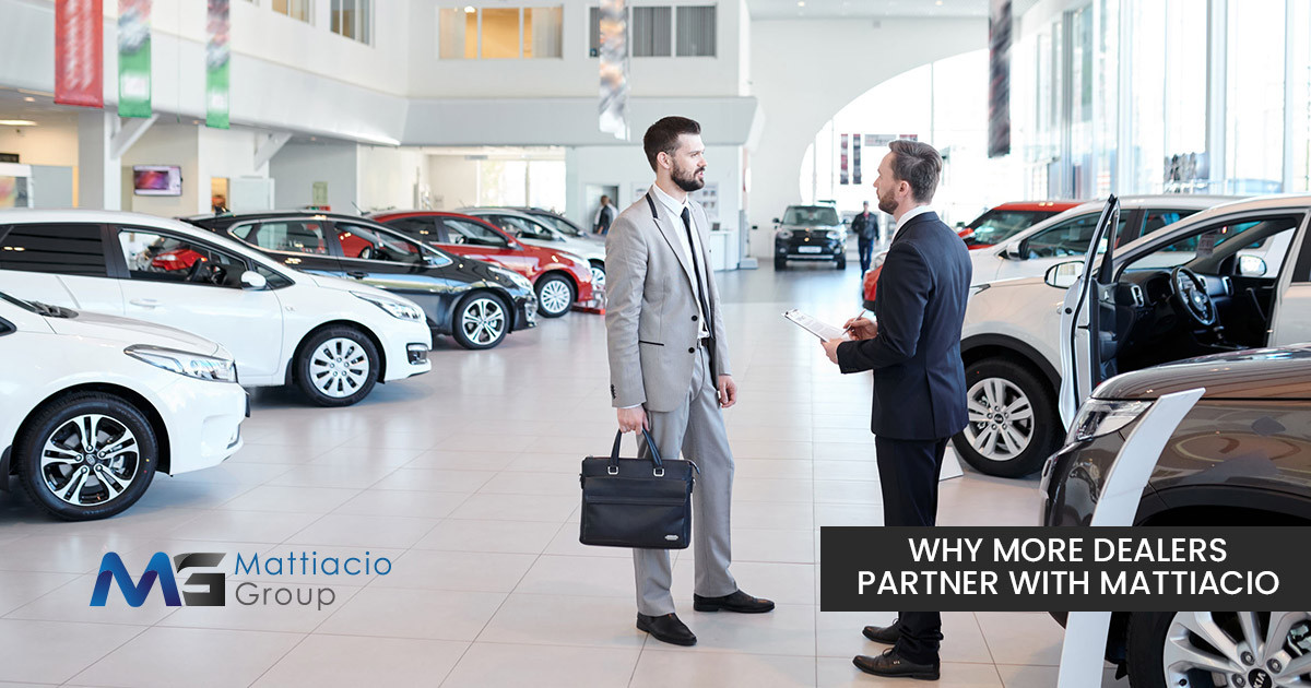 Why More Vehicle Dealerships Partner with The Mattiacio Group