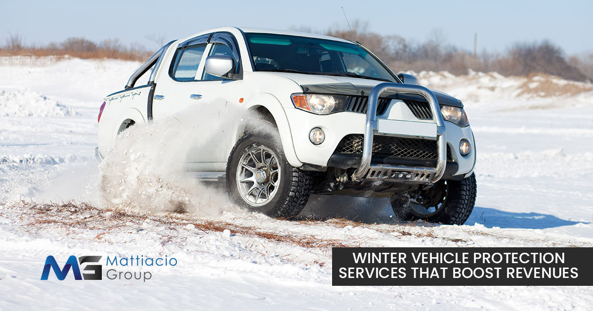 Winter Vehicle Protection Services That Boost Revenue