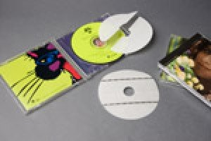 CD/DVD Overlays w/ Parallel Strips (Price for 200)