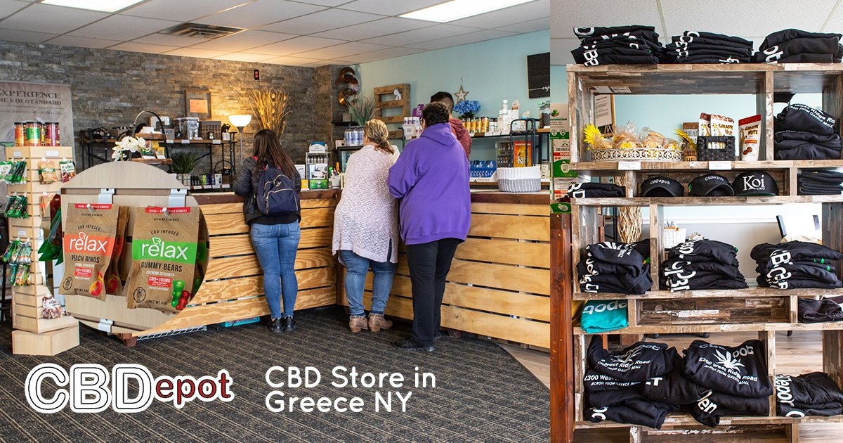 Visit Our New CBD Store in Greece NY