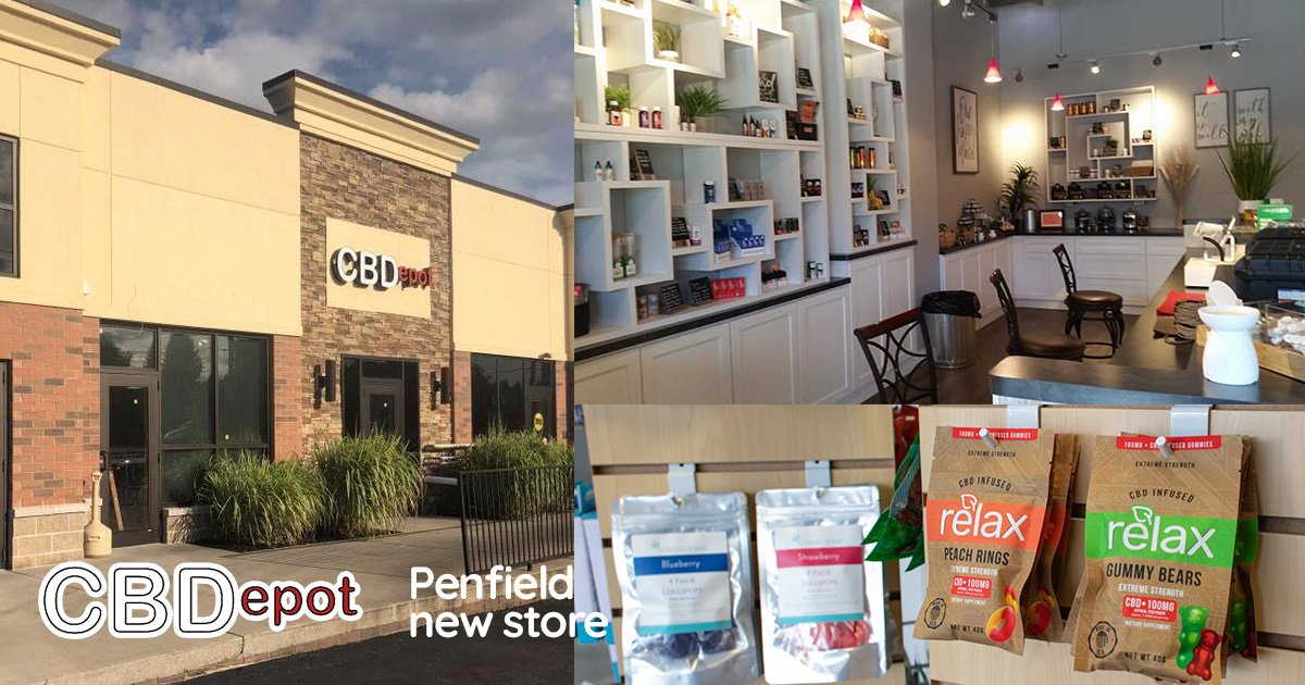 CBDepot Opens New CBD Store in Penfield NY