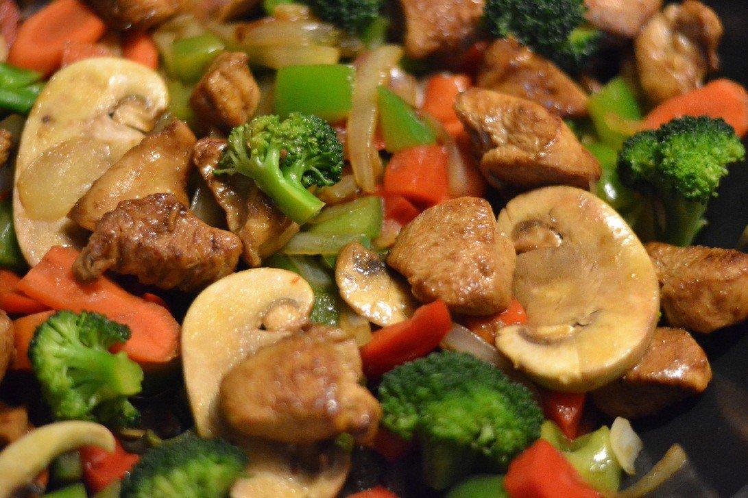 Chicken & Veggie Stir Fry
