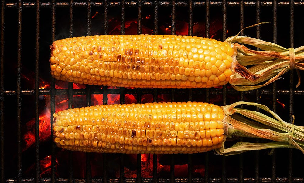 Spicy Grilled Corn-on the Cob