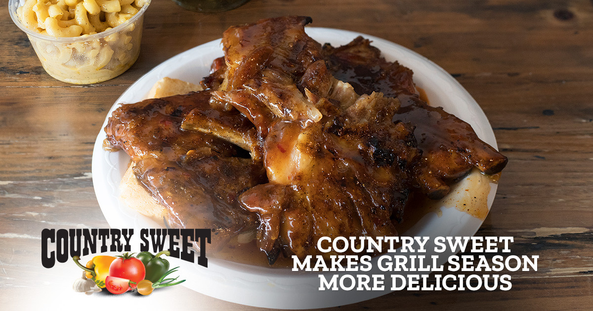 Country Sweet Makes Grilling Season More Delicious