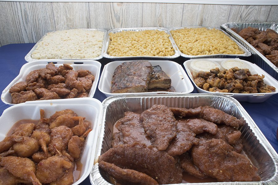 Country Sweet Catering Spread