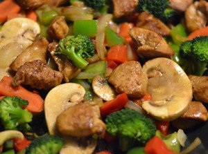 Chicken & Veggie Stir Fry Recipe