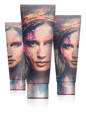 Digitally Printed Stock Tubes Offer Private Label Manufacturers NBE Quality